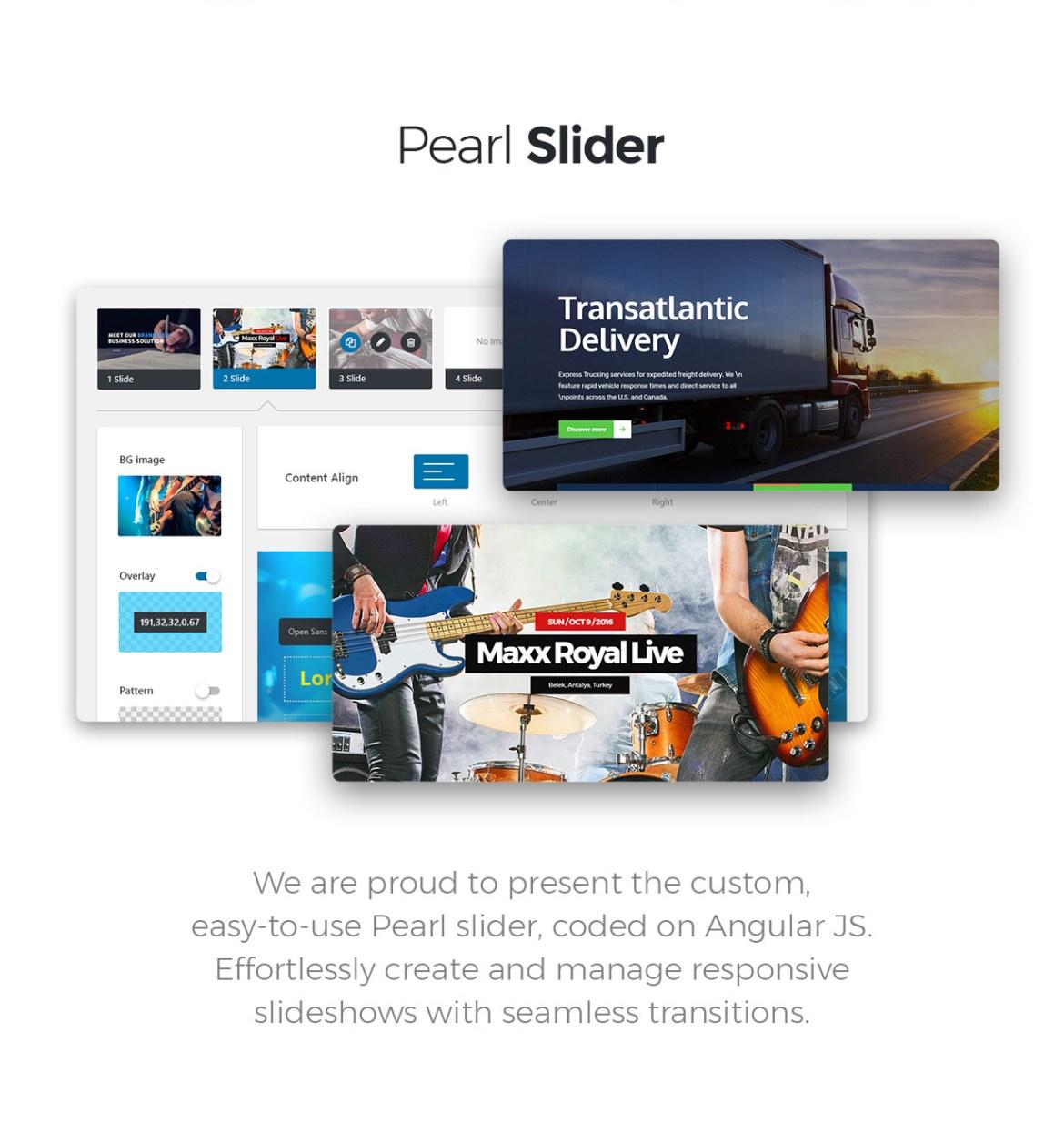 Pearl - Corporate Business WordPress Theme - 5