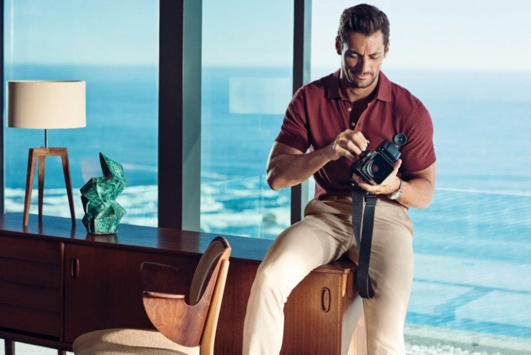 DAVID GANDY FRONTS MARKS & SPENCER'S  S/S 2016 CAMPAIGN