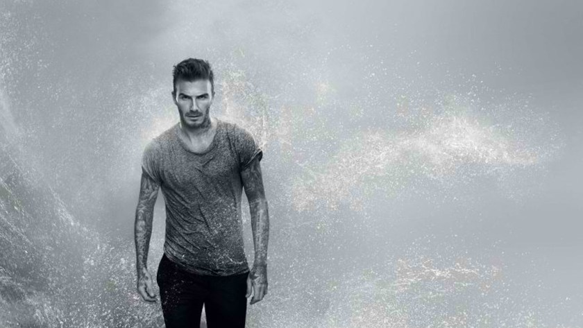 DAVID BECKHAMTEAMS UP WITH BIOTHERM FOR NEW MEN'S GROOMING LINE