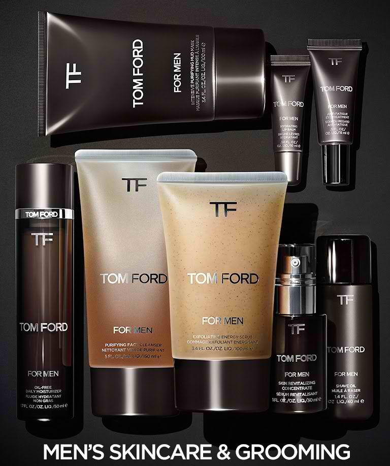 TOM FORD EXPANDS ITS GROOMING LINE BY ADDING THREE NEW PRODUCTS