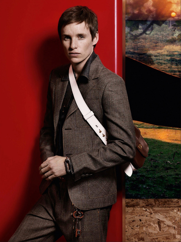 EDDIE REDMAYNE FRONTS PRADA FALL 2016 COLLECTION