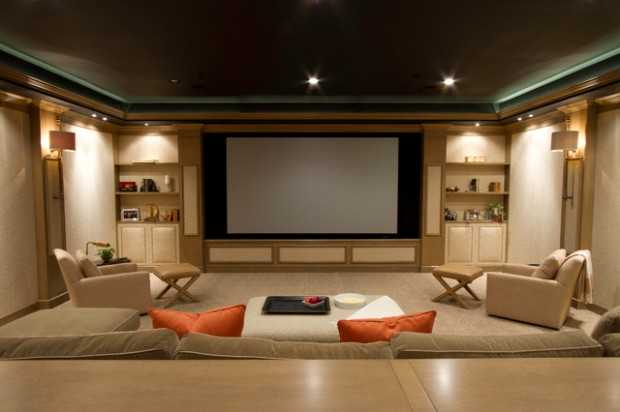 23 Ultra- Modern And Unique Home Theater Design Ideas