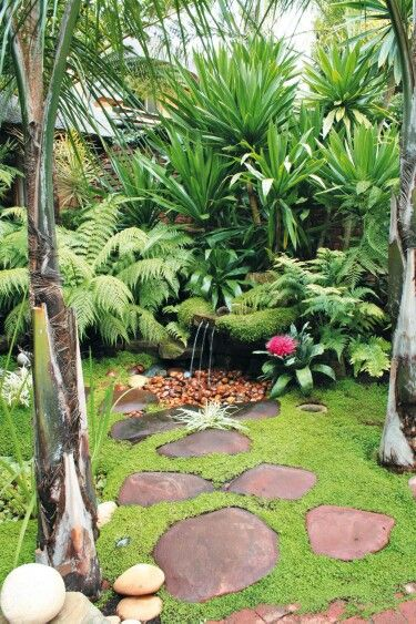 Top Tropical Backyard Garden Ideas - Stylendesigns on Tropical Small Backyard Ideas id=67585