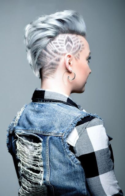 45 Undercut Hairstyles With Hair Tattoos For Women Page 2