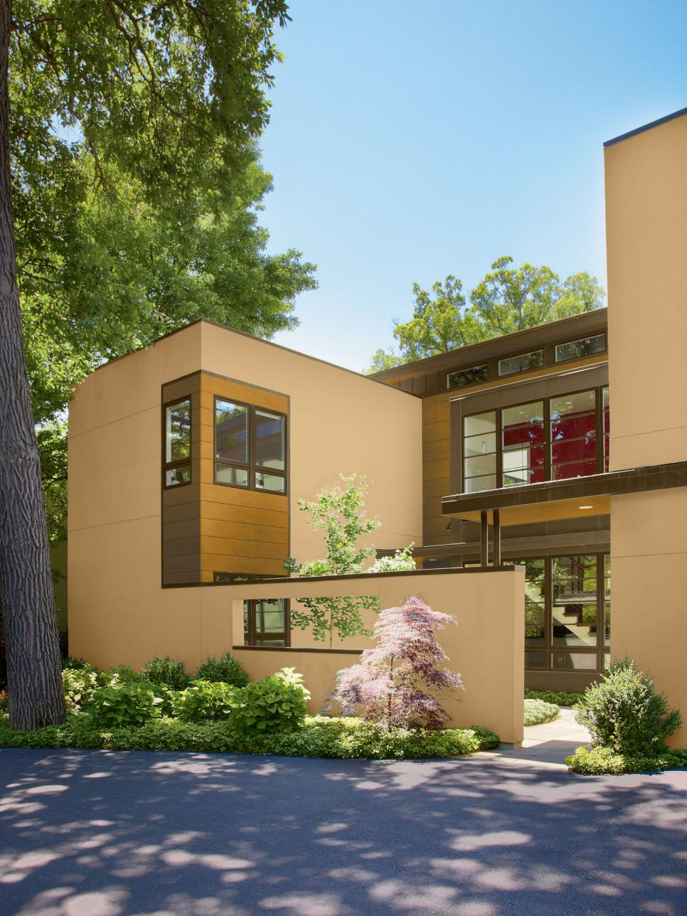 30 Modern Exterior Paint Colors For Houses - Stylendesigns on Modern House Painting  id=34795