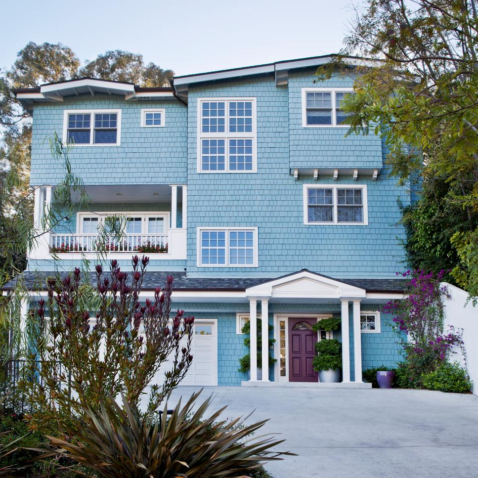 Modern Exterior Paint Colors For Houses - Style & Designs on Modern House Painting Ideas  id=72733