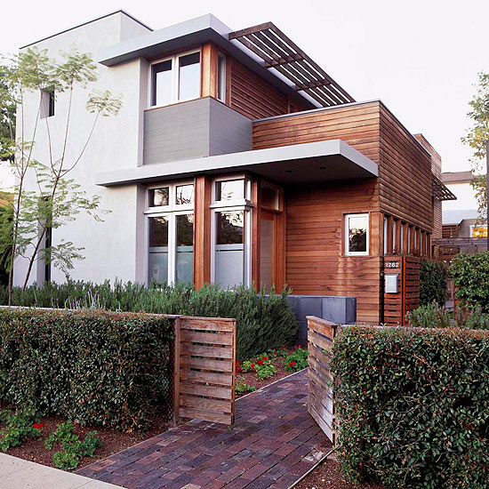 Modern Exterior Paint Colors For Houses - Style & Designs ... on Modern House Painting  id=28906