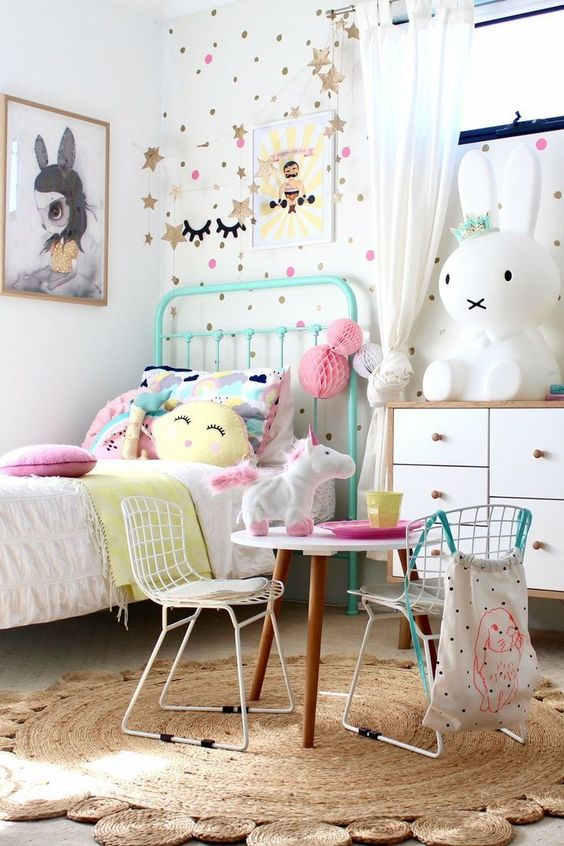 Extremely Wonderful Cute Bedroom Ideas for Girls ... on Pretty Room Decor For Girl  id=91908