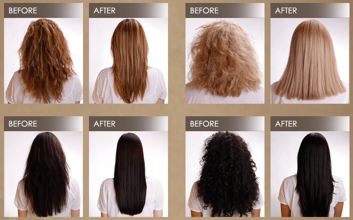 Keratin Treatment Photos Goshen IN Salon Salon J Hair