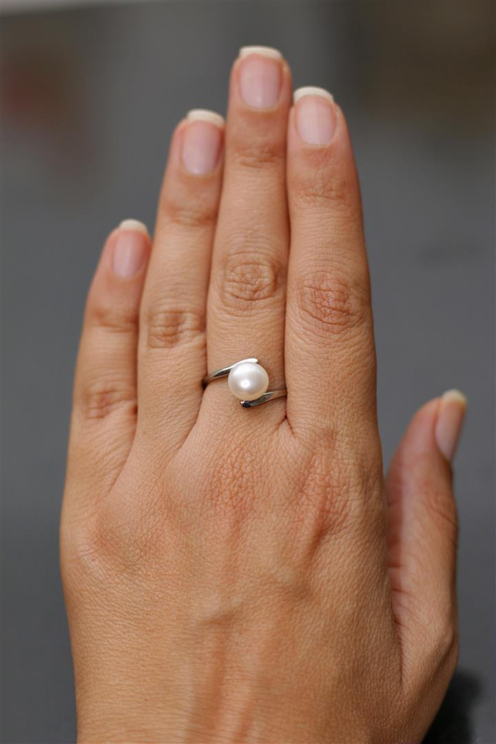 טבעת פנינה מaliexpress