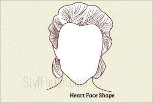 Heart-face-shape