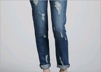 Cuffed Jeans for Girls