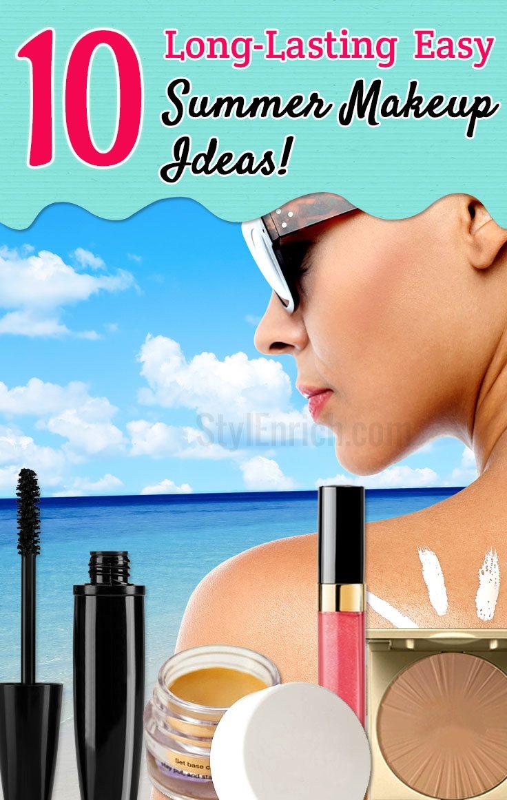 Easy Summer Makeup Ideas