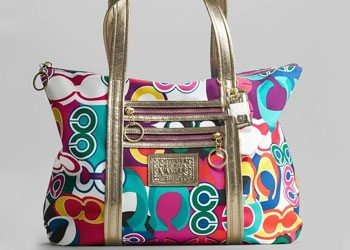 Funky larger and colorful bags
