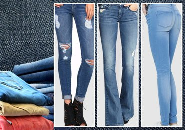 13 Different Styles of Denim Jeans for Girls