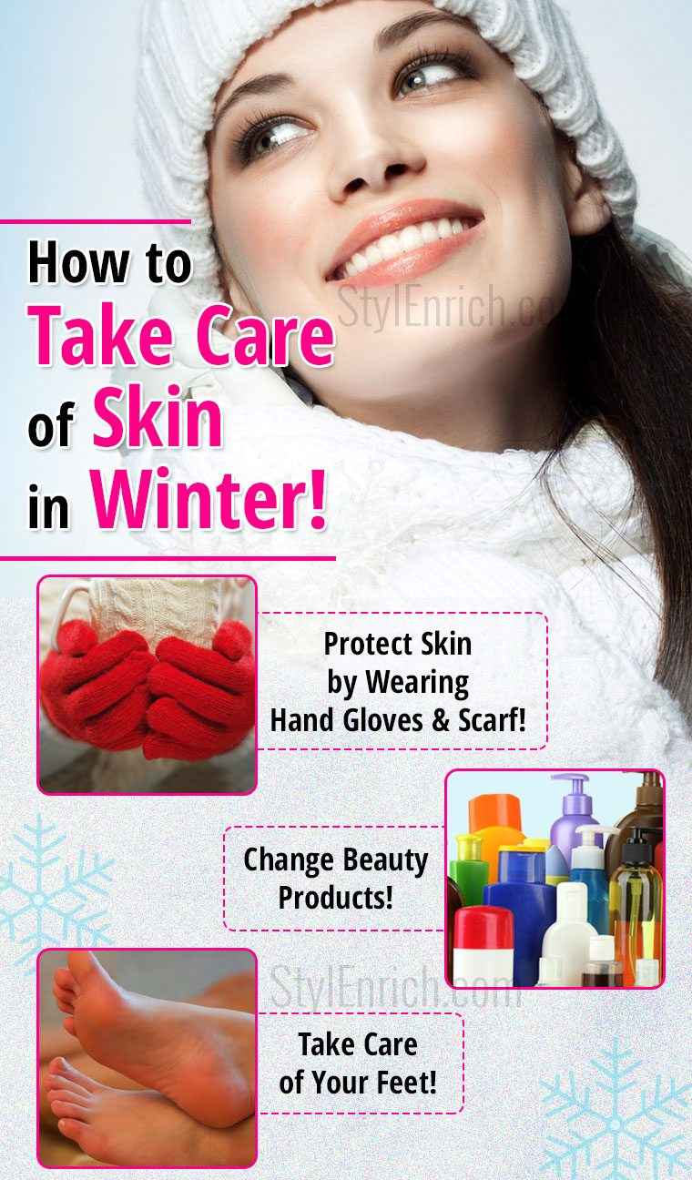 How to take care of skin in winter