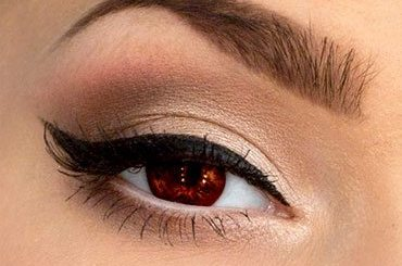 How to Do Brown Eyes Makeup