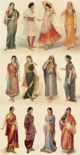 Indian Sari Draping Styles