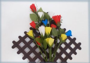 How-to-make-paper-roses