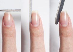Clip-your-nails-to-a-perfect-shape-for-manicure