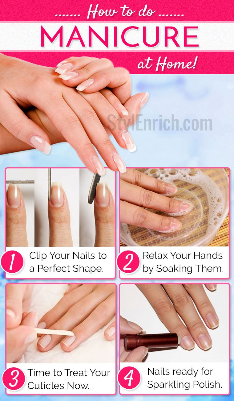 How to do a manicure