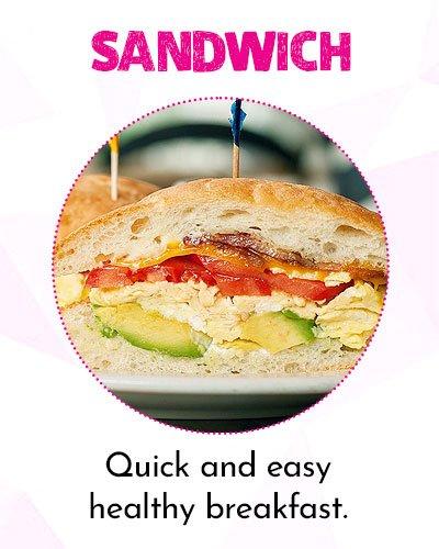 Avocado and Egg Sandwich for Easy Breakfast Ideas