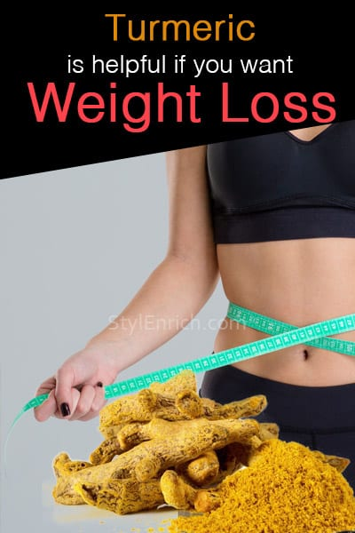 Turmeric Helps in Weight Loss