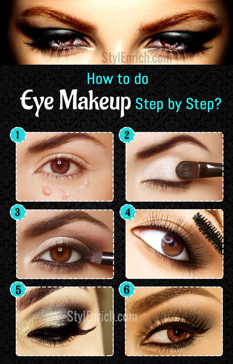 How To Do Eye Makeup : An Easy Guide To Learn Eye Makeup