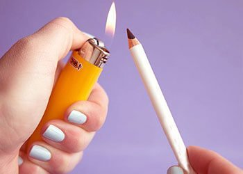 Heat Up Your Eyeliner Pencil