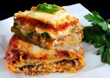 Beef and Ricotta Cheese Lasagna