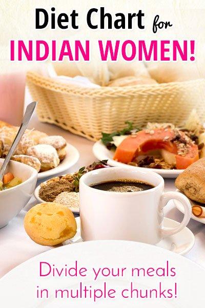 Plan de mese pentru femeile indiene