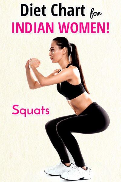 Squats pentru femeile indiene