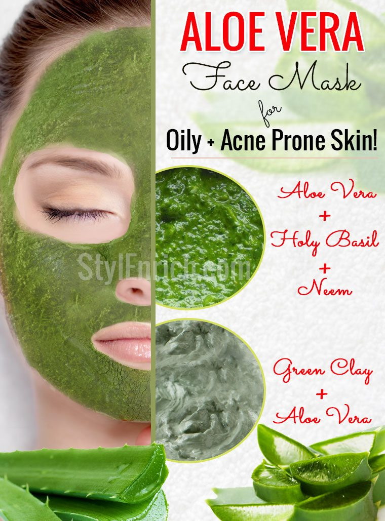 aloe vera face masks for oily and acne prone skin. Black Bedroom Furniture Sets. Home Design Ideas