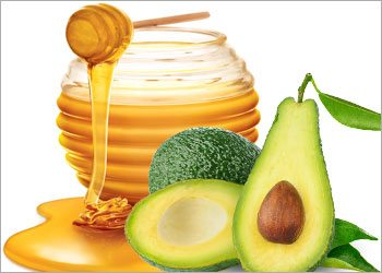 Avocado-&-honey-homemade-face-masks