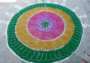 Priti Featured Rangoli