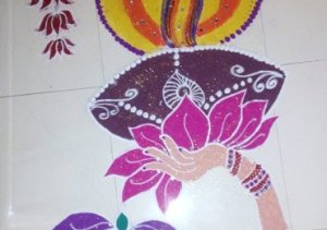 Ujjwala Agrawal Rangoli Featured