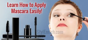How to apply mascara perfectly?