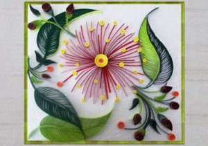 Flower Quilling Decoration