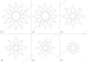 Easy Paper Flower Free Template