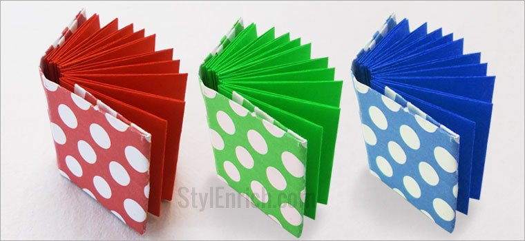 Easy Origami Notebook DIY Craft Ideas For Kids