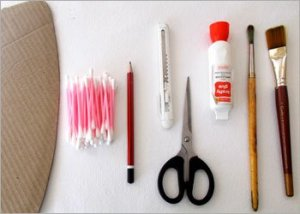 Material-required-for-plastic-spoon-craft