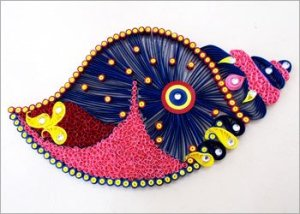 Quilling-craft-for-home-decoration