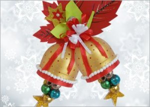 Christmas-bell-recycled-diy-craft