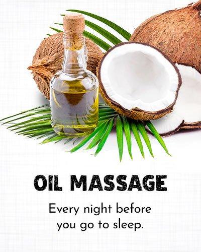 Oil Massage for Dry Cracked Feet