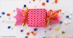 Easy Origami Candy Box for Kids