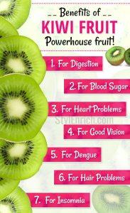 Benefits of kiwi