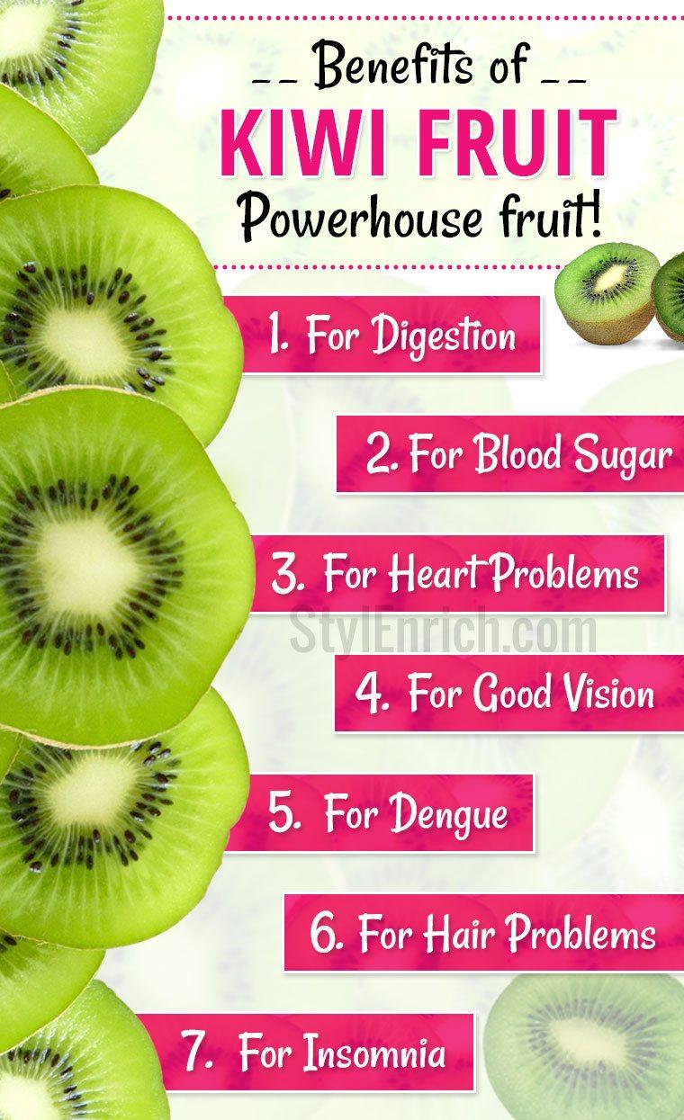 Kiwi Fruit - Nutritional Value and Health Benefits