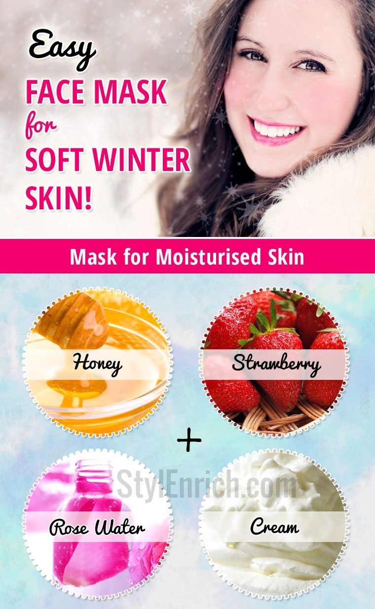 Easy homemade face masks for winter