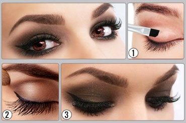Smokey Eye Makeup For Brown Eyes!