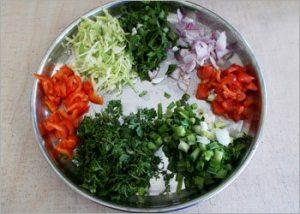 Vegetables-for-ragi-dosa